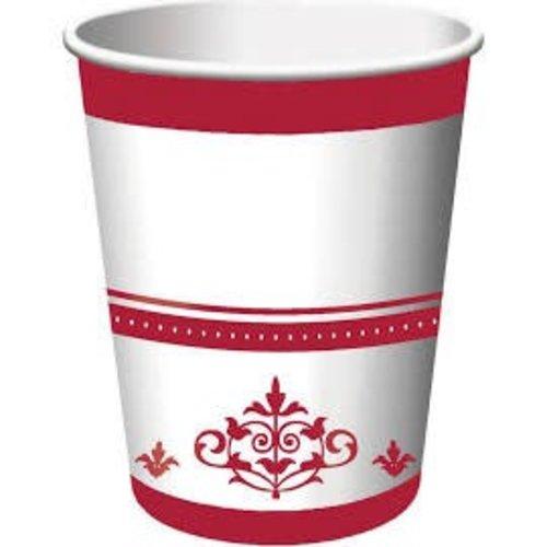 *Stafford Ruby 40th Anniversary 9oz Cups 18ct