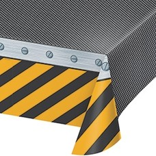 *Construction Zone Tablecover