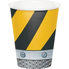 *Construction Zone 9oz cup 8ct