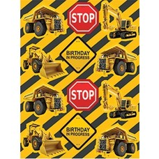 *Construction Zone Stickers 4ct