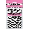 *Zebra Passion Invitations 8ct