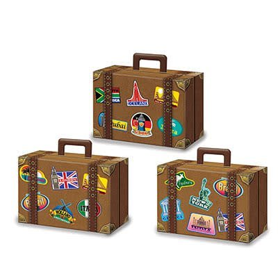 Luggage Favor Boxes