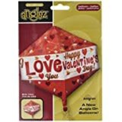*Happy Valentine Anglez Mylar Balloon