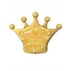 """*Gold Crown 41"""" Jumbo Balloon"""
