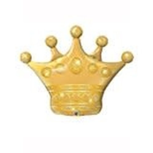 "*Gold Crown 41"" Jumbo Balloon"