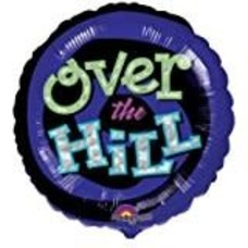 """*Oh No Over the Hill 18"""" Mylar Balloon"""