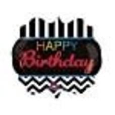 """*Happy Birthday 25"""" Birthday Celebration Mylar Balloon"""