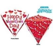 *Happy Valentine's Day Diamond Balloon