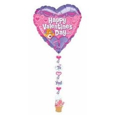 *Care Bears Drop a Line Valentine Balloon