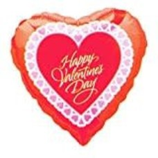 *Happy Valentine's Day Heart Shape balloon
