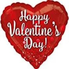 *Valentine Sparkle Jumbo Mylar Balloon