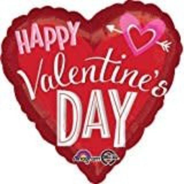 *Jumbo Heart Valentine Mylar Balloon