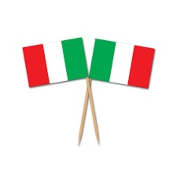 *Italian Flag Picks 50ct
