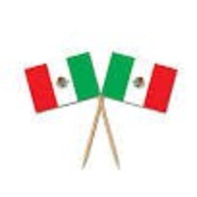 *Mexican Flag Picks 50ct