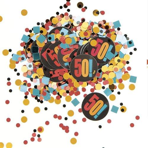 Unique Birthday Cheer 50 Confetti