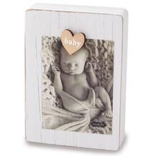 White Baby Magnet Frame