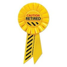 *Retired Caution Yellow Rosette