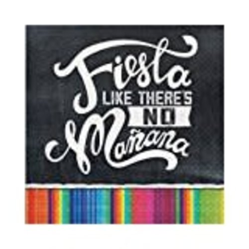 *Fiesta Like There's No Manana Lunch Napkin 16ct