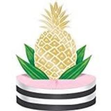 *Pineapple Wedding Honeycomb Centerpiece