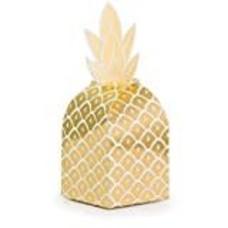 *Pineapple Wedding Foil Favor Boxes 8ct