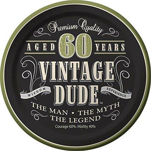 Vintage Dude 60 7in Plate