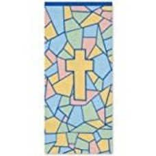 *Religious Pastel Paper Tablecover