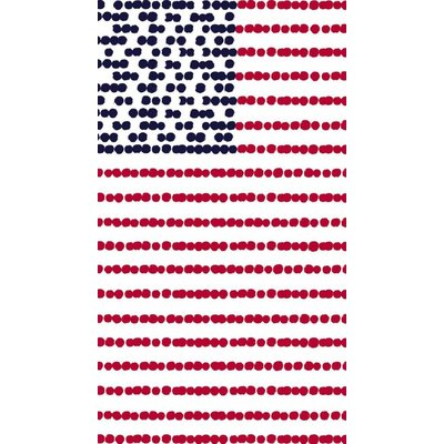 American Flag Paper Guest Towels