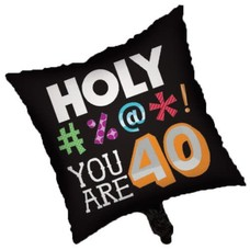 *Holy Bleep 40 Mylar Balloon