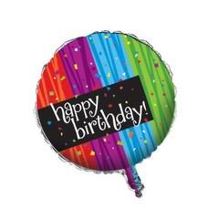 *Milestone Happy Birthday Mylar Balloon