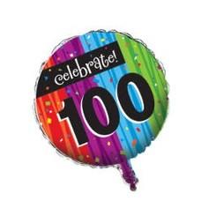 *Milestone 100 Mylar Balloon