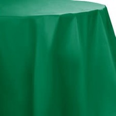 *Emerald Green Octy Round Tablecover