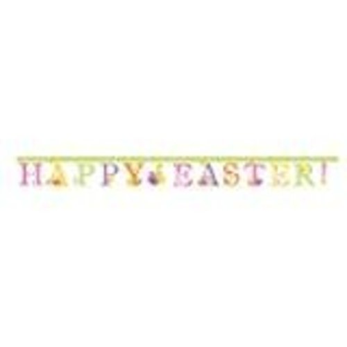 *Happy Easter Jointed Banner 7.5ft