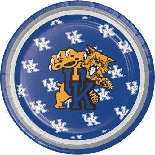 "*University of Kentucky Wildcats 7"" Plates 8ct"