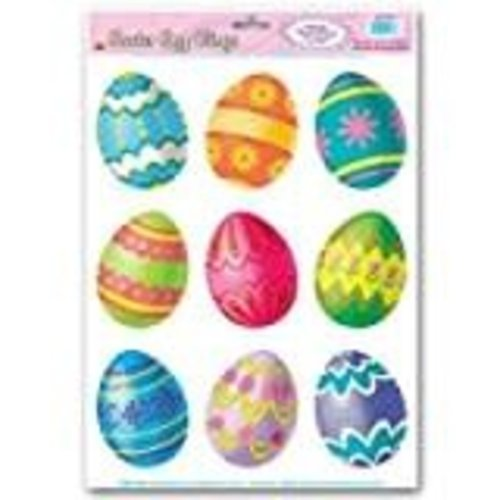 *Easter Glass Magnet Painted Eggs