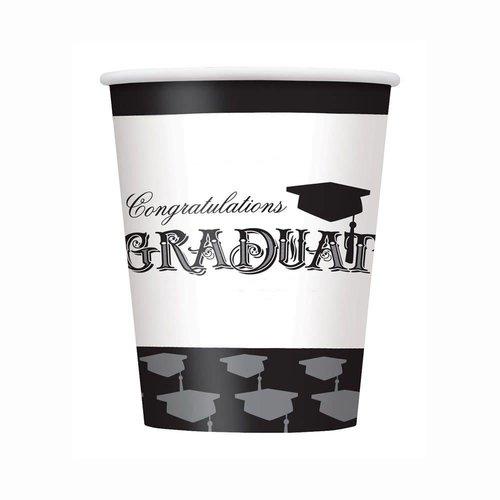 Simply Graduation 9oz Cups
