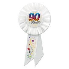 90 & Incredible Rosette Ribbon
