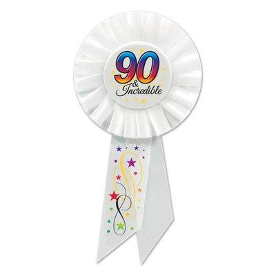 90 & Incredible Rosette Ribbon