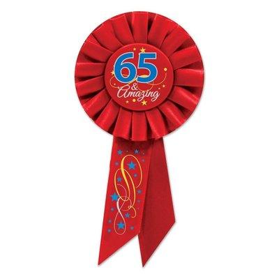 65 & Amazing Rosette Ribbon