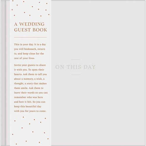 On This Day Wedding Guest Book