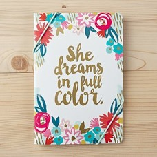 She Dreams in Full Color Notebook