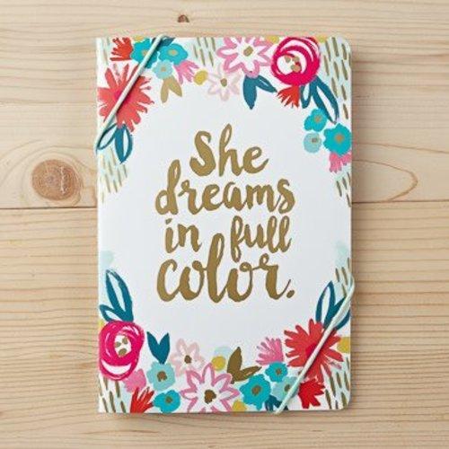 She Dreams in Full Color Notebook