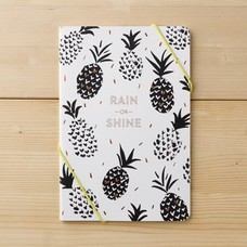 Rain or Shine Pineapple Notebook