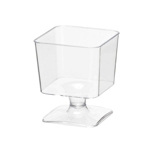 NORTH WEST Mini Square Cups With Stem