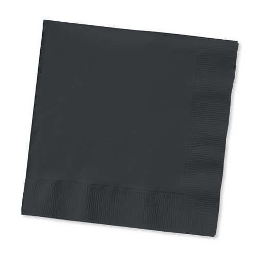 *Black Velvet 3ply Beverage Napkins 50ct
