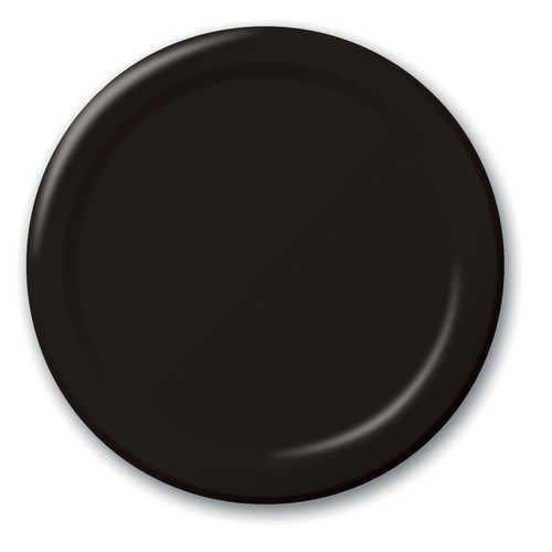 """*Black Velvet 7"""" Paper Plates 24ct"""