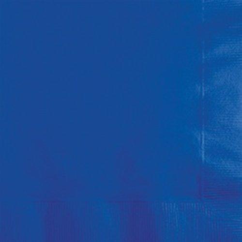 Cobalt Blue 3ply Beverage Napkins 50ct