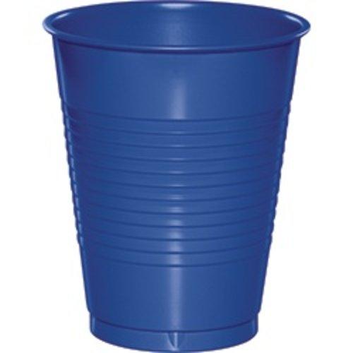 *Cobalt 16oz Plastic Cups 20ct