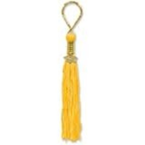 Gold Grad Tassel Key Chain