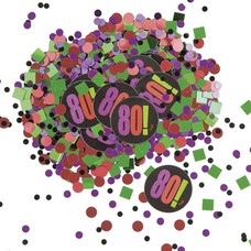 Unique Birthday Cheer 80 Confetti