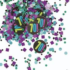 Unique Birthday Cheer 70 Confetti